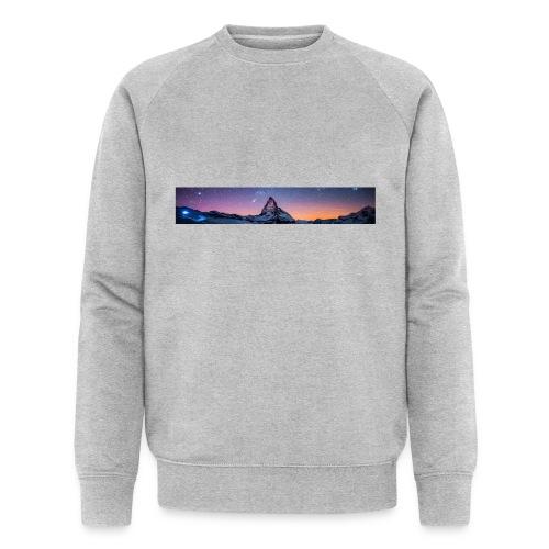 Mountain sky - Männer Bio-Sweatshirt von Stanley & Stella