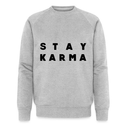 Stay Karma - Felpa ecologica da uomo di Stanley & Stella