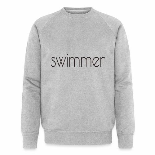 swimmer text - Männer Bio-Sweatshirt von Stanley & Stella