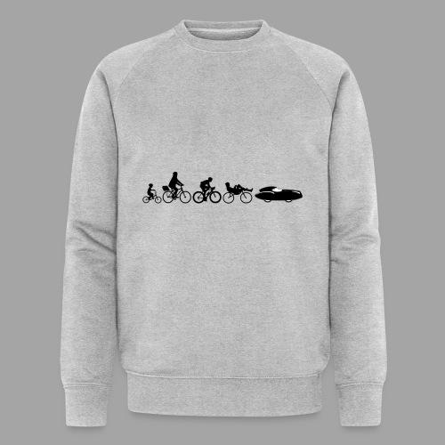 Bicycle evolution black Quattrovelo - Stanley & Stellan miesten luomucollegepaita