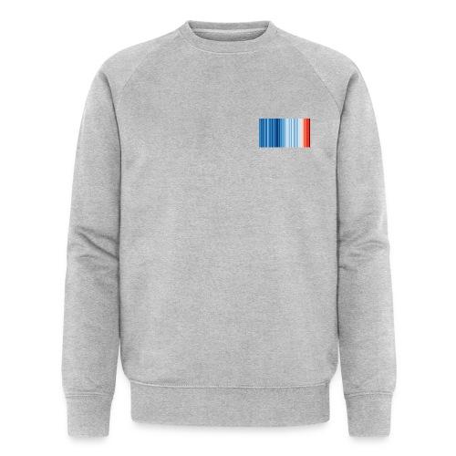 Klimawandel - Warming Stripes - Wärmestreifen - Männer Bio-Sweatshirt von Stanley & Stella