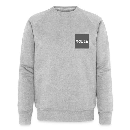 Molle grey - Stanley & Stellan miesten luomucollegepaita