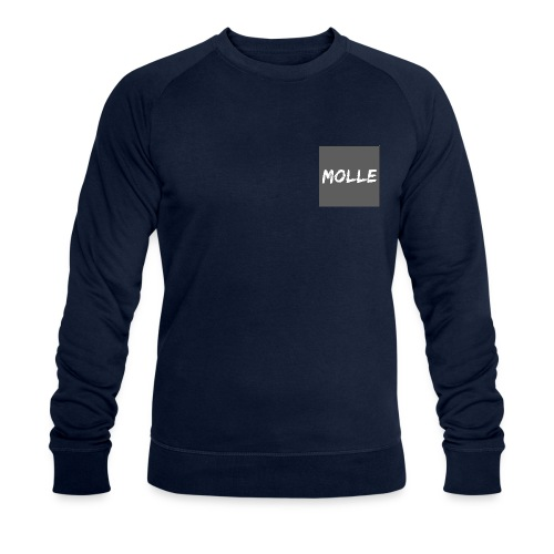Molle grey - Miesten luomucollegepaita