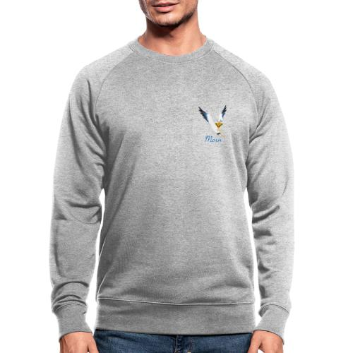 Moin Lachmöwe - Männer Bio-Sweatshirt