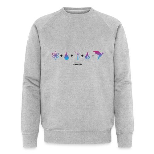 Humanisten Formel: Energie - Männer Bio-Sweatshirt von Stanley & Stella