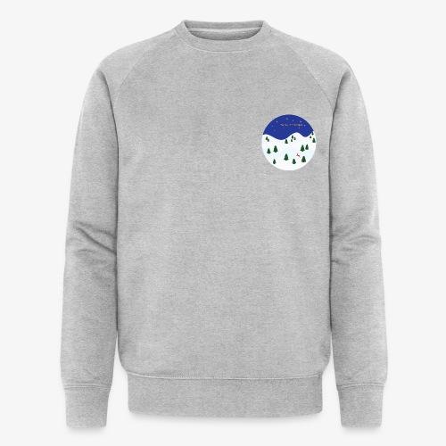 boule Noël bleue - Sweat-shirt bio