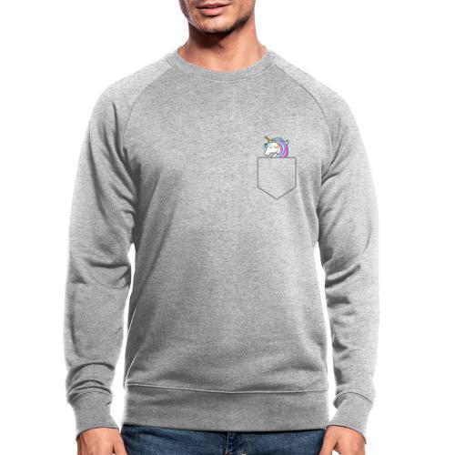 Lomme Enhjørning - Økologisk sweatshirt til herrer
