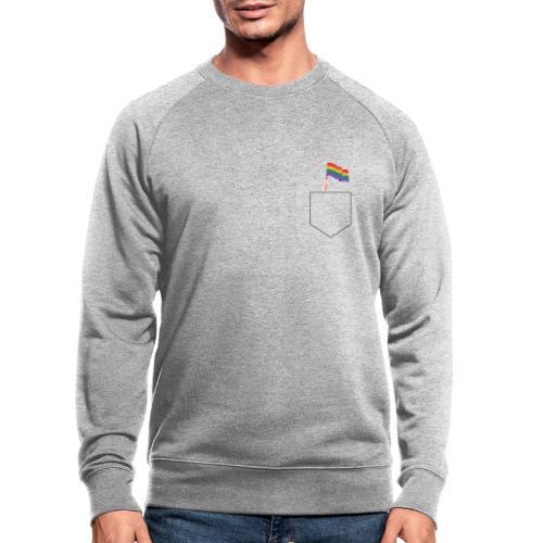 Lomme Flag - Økologisk sweatshirt til herrer