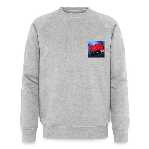 AGJ Nieuw logo design - Mannen bio sweatshirt