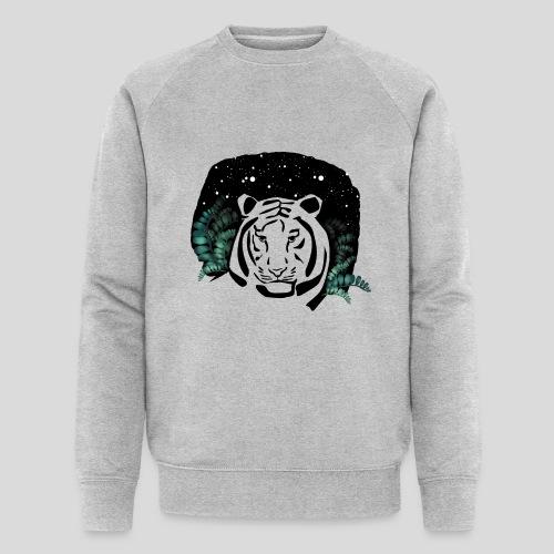 Universum Tiger - Männer Bio-Sweatshirt von Stanley & Stella