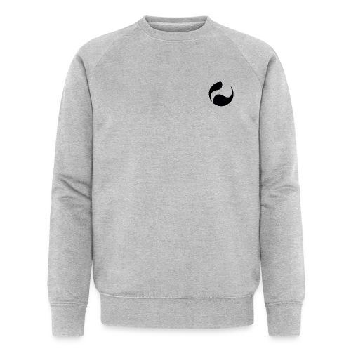 DEEPINSIDE logo ball black - Men's Organic Sweatshirt by Stanley & Stella