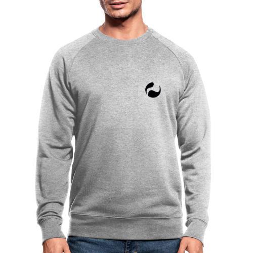 DEEPINSIDE logo ball black - Men's Organic Sweatshirt
