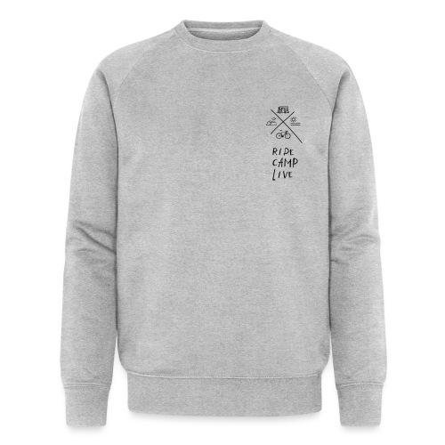RIDE CAMP LIVE - Männer Bio-Sweatshirt