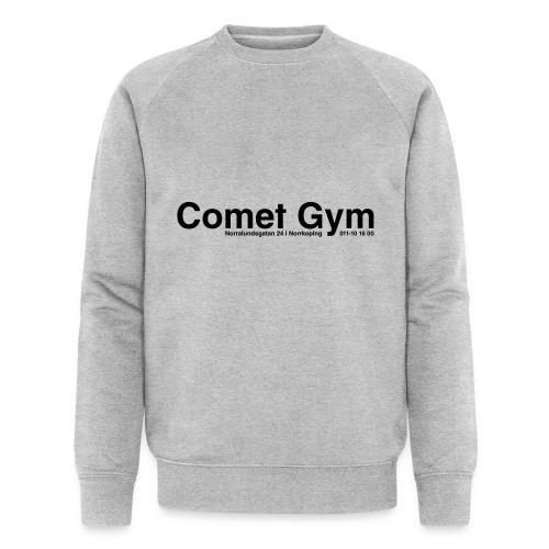 cometgym logga - Ekologisk sweatshirt herr