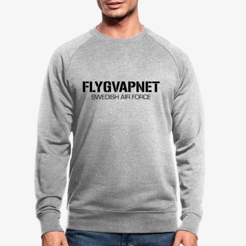 FLYGVAPNET - SWEDISH AIR FORCE - Ekologisk sweatshirt herr