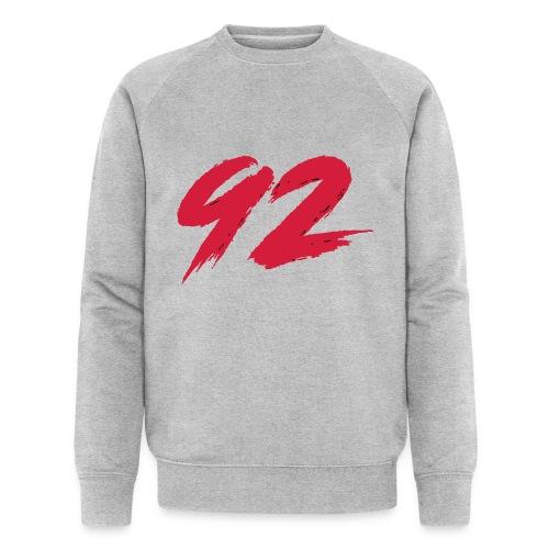 92 Logo 1 - Männer Bio-Sweatshirt von Stanley & Stella