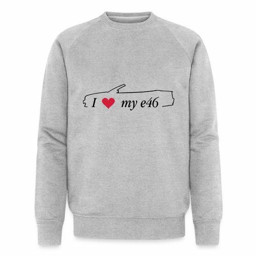 I Love my e46 Cabrio - Männer Bio-Sweatshirt von Stanley & Stella