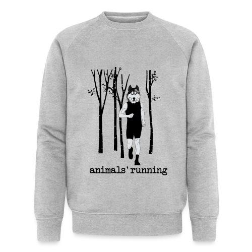 Loup running - Sweat-shirt bio