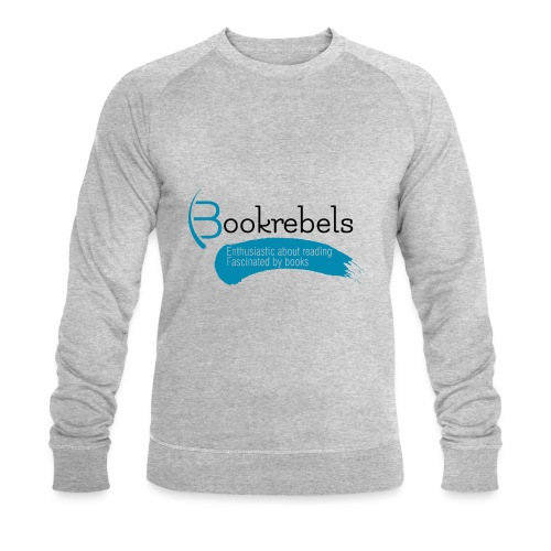 Bookrebels Enthusiastic - Black - Men's Organic Sweatshirt by Stanley & Stella