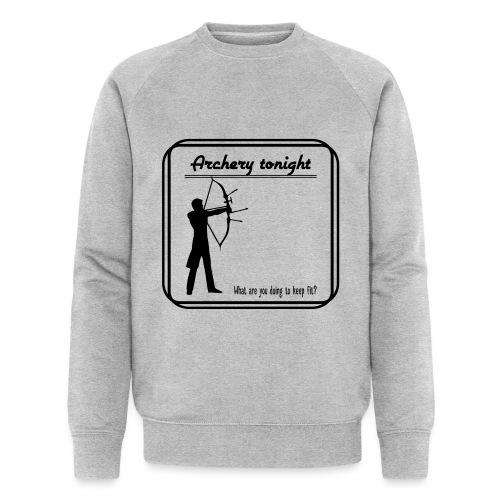 Archery tonight - Stanley & Stellan miesten luomucollegepaita