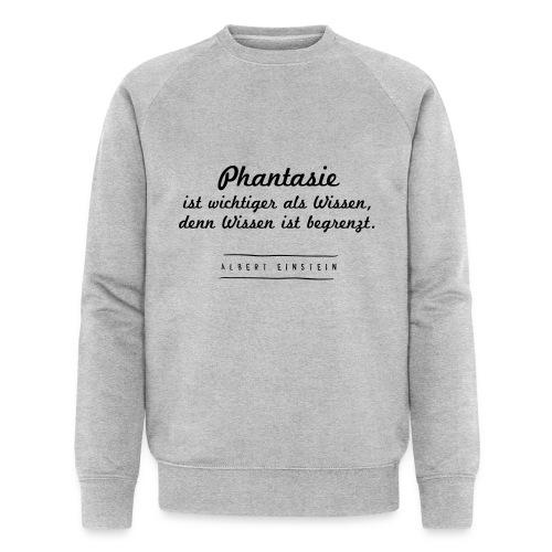 Phantasie vs. Wissen - Männer Bio-Sweatshirt von Stanley & Stella