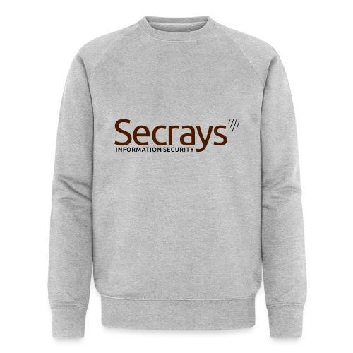 Secrays vektori logo - Miesten luomucollegepaita