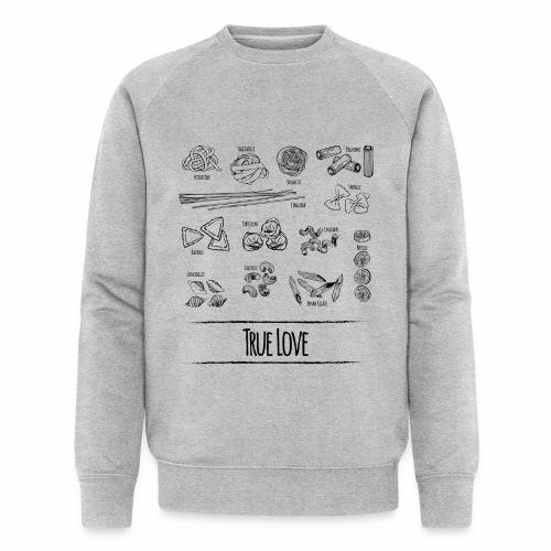 Pasta - My True Love - Männer Bio-Sweatshirt von Stanley & Stella