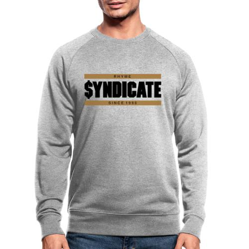 Official Rhyme Syndicate Gold - Men's Organic Sweatshirt