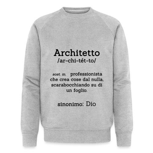 Architetto definizione - Sinonimo Dio - nero - Felpa ecologica da uomo di Stanley & Stella
