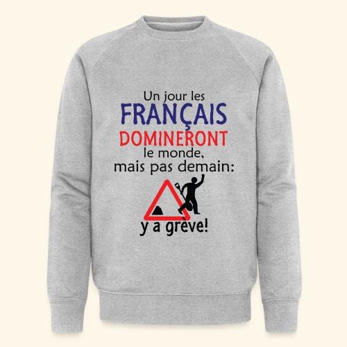 domination française - Sweat-shirt bio Stanley & Stella Homme