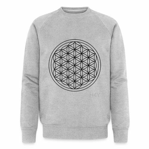 Flower Of Life - This Design Will Heal You - Økologisk Stanley & Stella sweatshirt til herrer