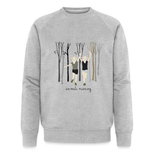 Moutons running - Sweat-shirt bio