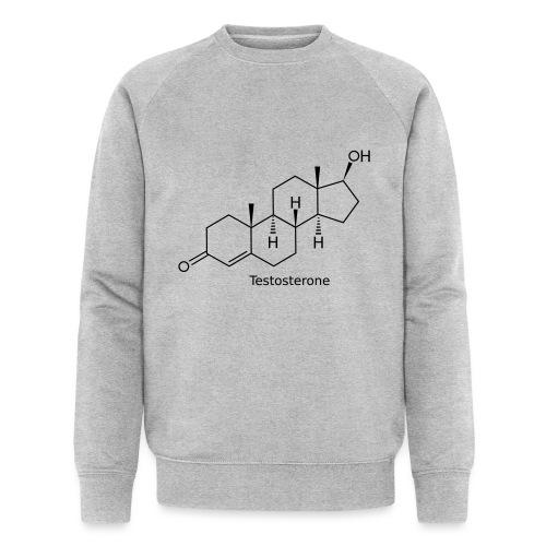 Testosterone - Bodybuilding, Crossfit, Fitness - Männer Bio-Sweatshirt von Stanley & Stella