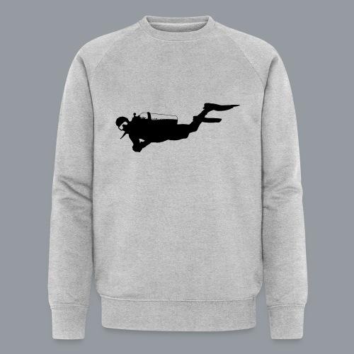 Taucher - Männer Bio-Sweatshirt von Stanley & Stella