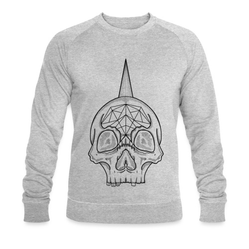 Skull head - Sweat-shirt bio Stanley & Stella Homme