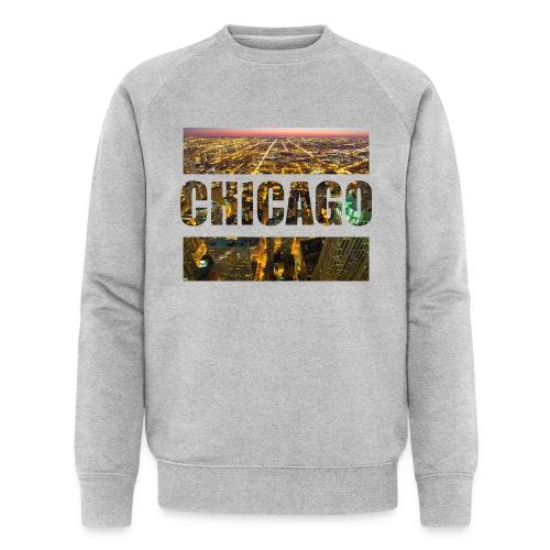 Chicago - Männer Bio-Sweatshirt