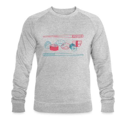 Sushi - Männer Bio-Sweatshirt von Stanley & Stella
