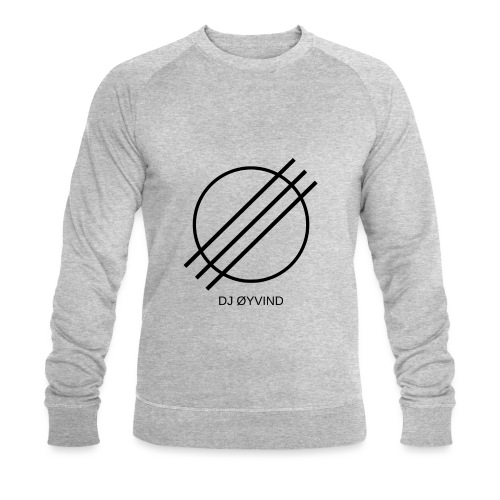 DJ Øyvind Logo (Offisiell) - Økologisk sweatshirt for menn fra Stanley & Stella