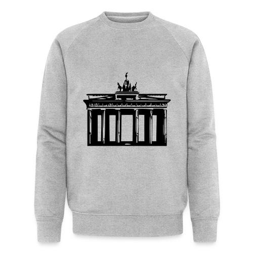Brandenburger Tor - Männer Bio-Sweatshirt von Stanley & Stella