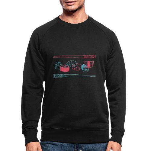 Sushi - Männer Bio-Sweatshirt
