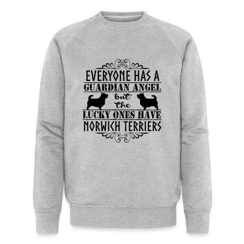 Norwich Terrier Angels 2 - Men's Organic Sweatshirt