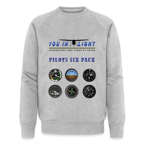 Pilots six pack shirts - Økologisk sweatshirt til herrer