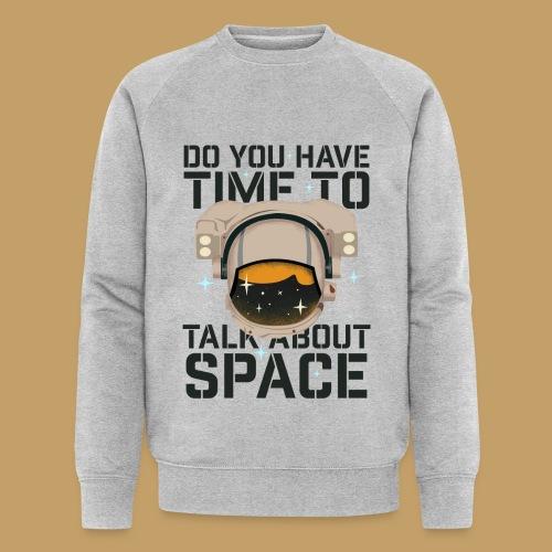 Time for Space - Ekologiczna bluza męska