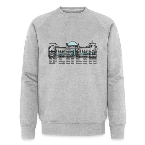 Berlin Linienschrift - Männer Bio-Sweatshirt von Stanley & Stella