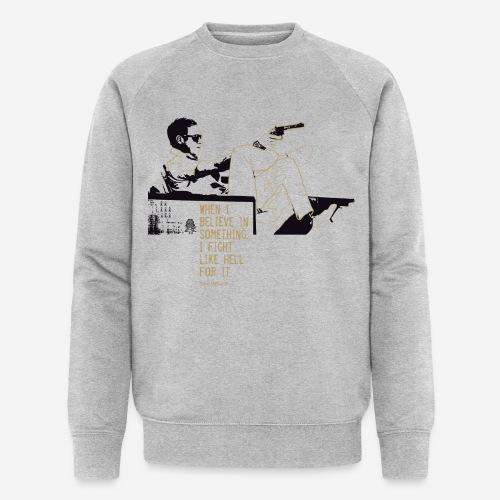 When I Believe in something! Gold - Männer Bio-Sweatshirt von Stanley & Stella