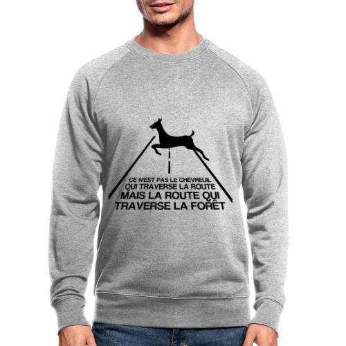 Chevreuil - Sweat-shirt bio