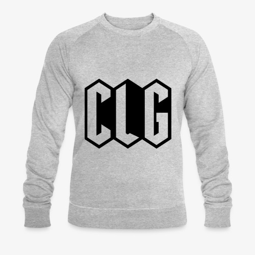 CLG DESIGN black - Sweat-shirt bio Stanley & Stella Homme