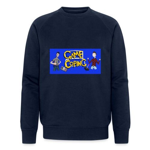 Game Coping Happy Banner - Men's Organic Sweatshirt