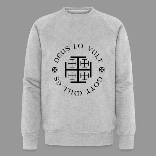 deus lo vult - Gott will es - Männer Bio-Sweatshirt von Stanley & Stella