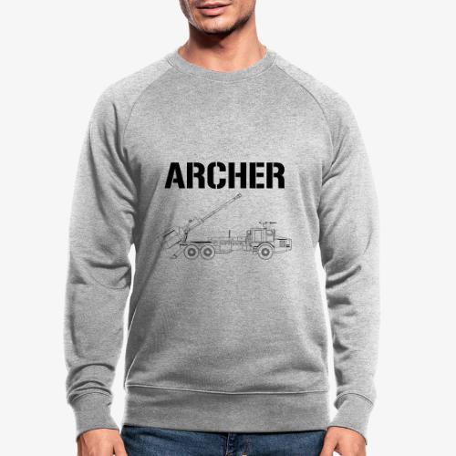 Artillerisystem ARCHER - Ekologisk sweatshirt herr